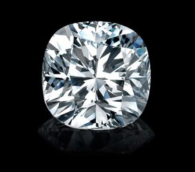 Brisbane diamonds white cushion cut