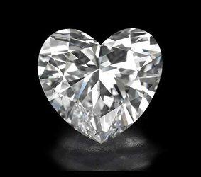 Brisbane diamonds heart shape