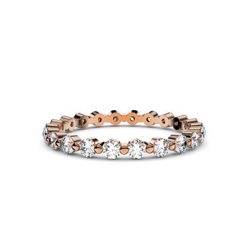 Bubble diamond ring 2mm